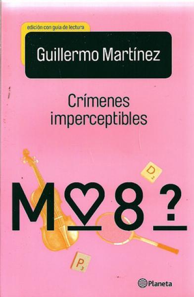 CRIMENES IMPERCEPTIBLES CON GUIA DE LECT