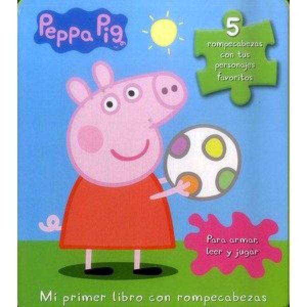 PEPPA PIG - MI PRIMER LIBRO CON ROMPECAB