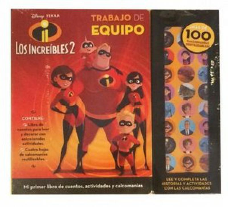 LOS INCREIBLES 2 - TRABAJO DE EQUIPO
