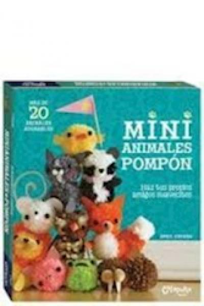 MINI ANIMALES POMPON C/ ESTUCHE