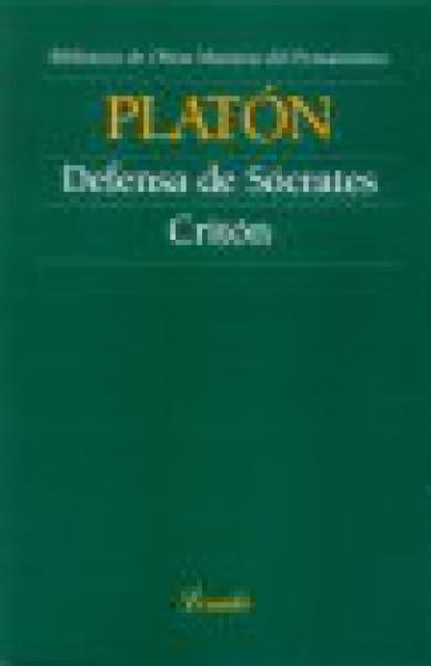 DEFENSA DE SOCRATES - CRITON