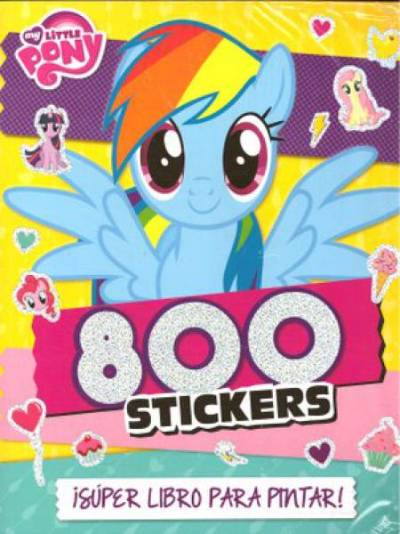 MY LITTLE PONY - 800 STIKERS