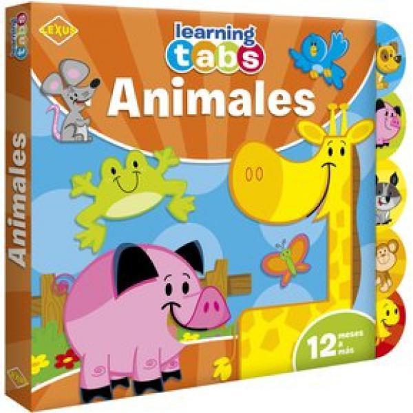 ANIMALES - TABS GOMA EVA