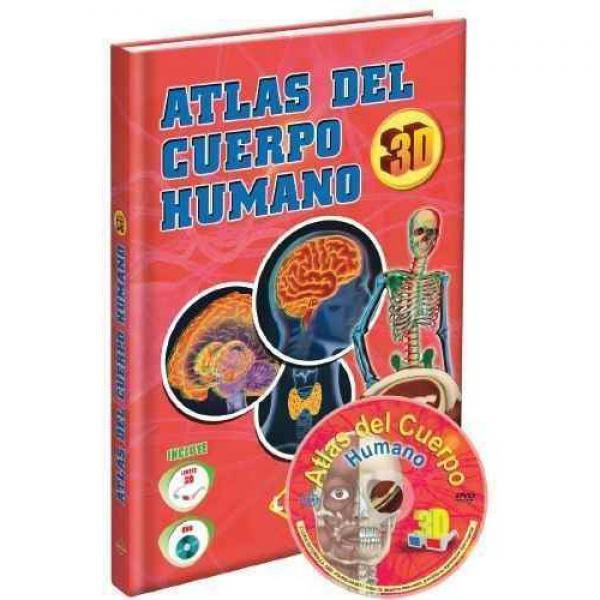 ATLAS DEL CUERPO HUMANO 3D + DVD