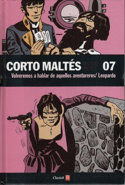 CORTO MALTES 7 - LEOPARDO