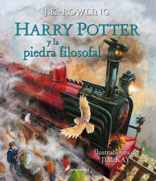 HARRY POTTER 1 - ILUSTRADO