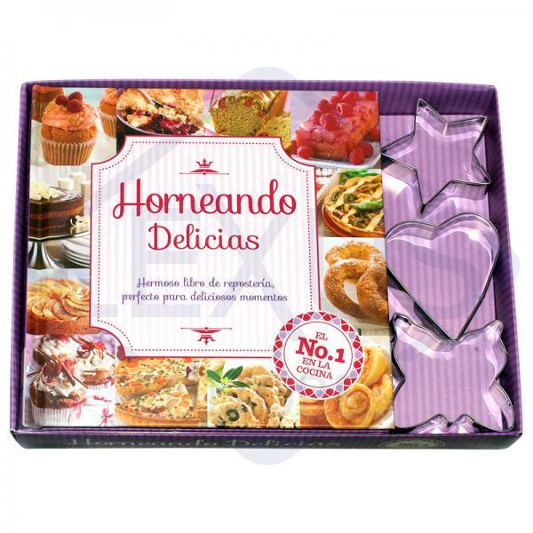 HORNEANDO DELICIAS RECETAS + MOLDES