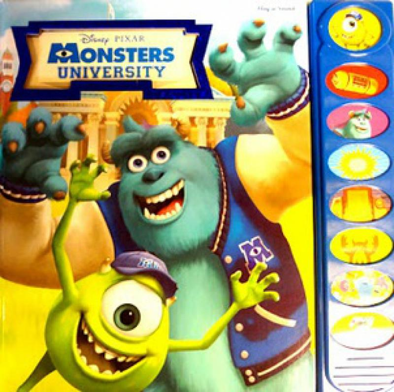MONSTERS UNIVERSITY -PLY-A-SOUND