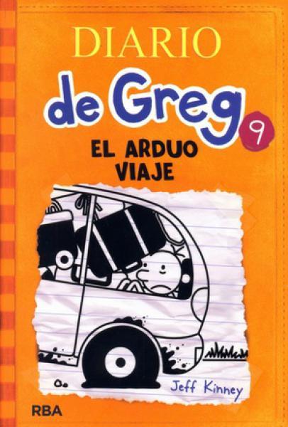 DIARIO DE GREG 9 - EL ARDUO VIAJE