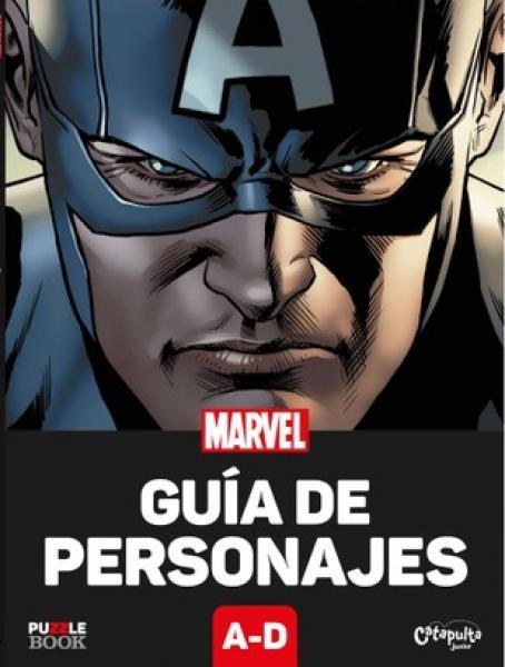 MARVEL GUIA DE PERSONAJES A-D