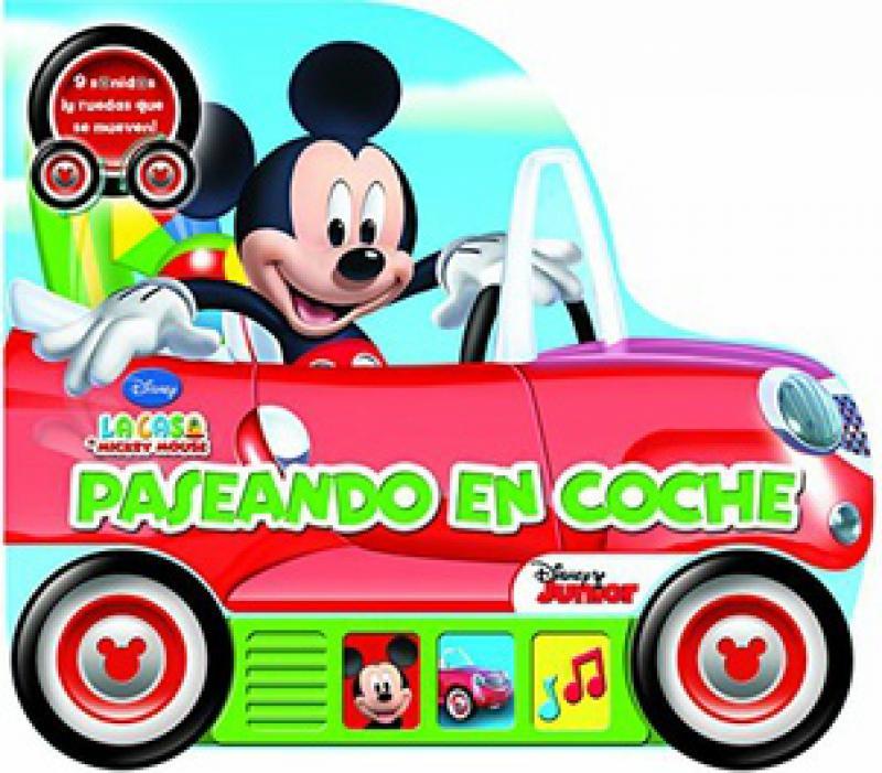 PASEANDO EN COCHE /MICKEY MOUSE