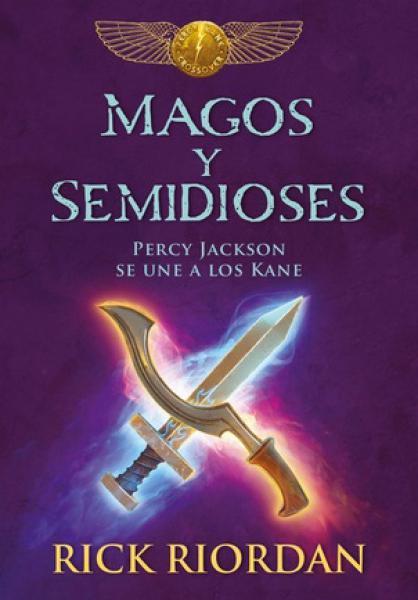 MAGOS Y SEMIDIOSES (PERCY JACKSON...)