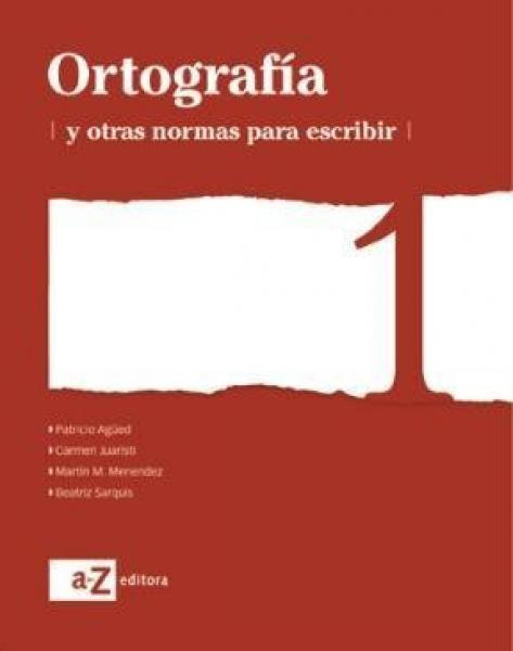 ORTOGRAFIA 1 SERIE BLANCA