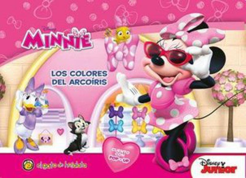 MINNIE LOS COLORES DEL ARCOIRIS POP UP
