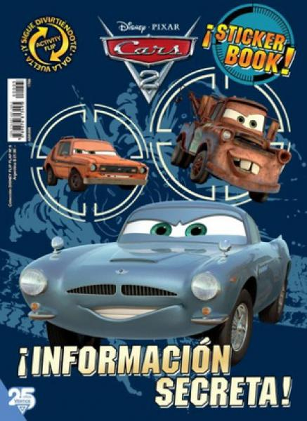 CARS 2 DISNEY FLIP FLAP 5
