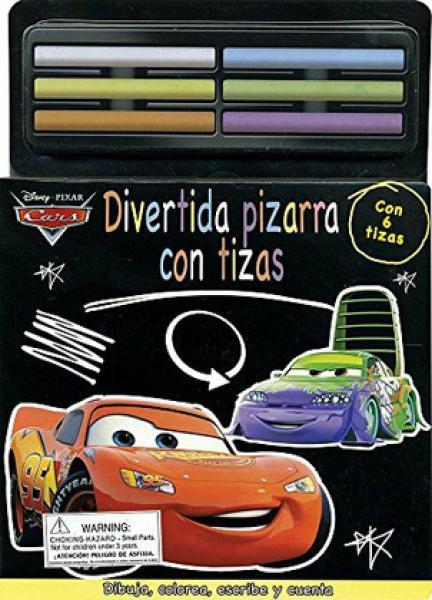 CARS: DIVERTIDA PIZARRA CON TIZAS