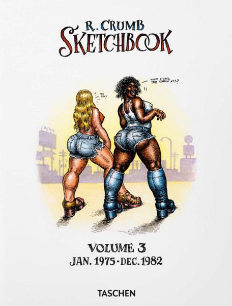 R.CRUMB SKETCHBOOK - VOL.3 - 1975/1982