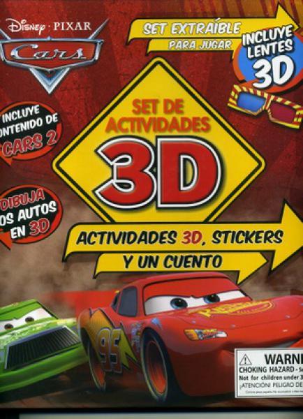 CARS 2:SET DE ACTIVIDADES 3D
