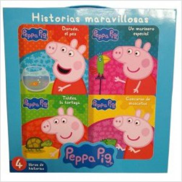 PEPPA PIG - HISTORIAS MARAVILLOSAS (4L)
