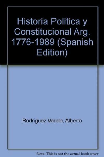 HISTORIA POLITICA Y CONSTIT.ARG.T.3
