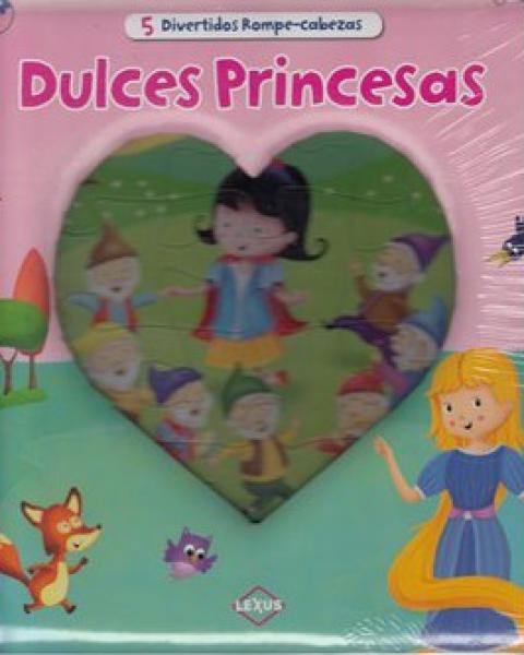 DULCES PRINCESAS - 5 ROMPECABEZA