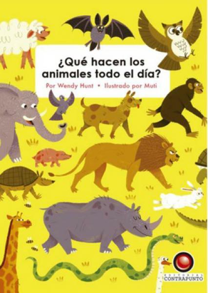 QUE HACEN LOS ANIMALES TODO EL DIA