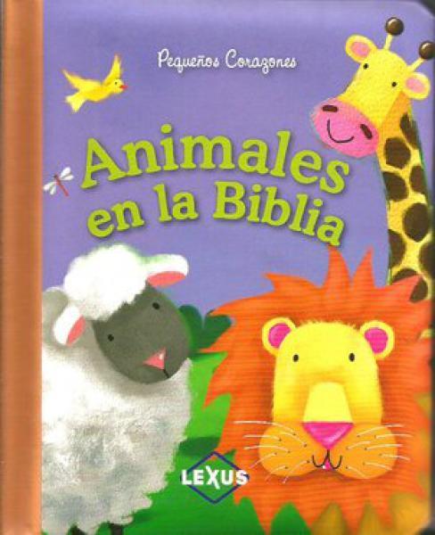 PEQUEÐOS CORAZONES ANIMALES DE LA BIBLIA