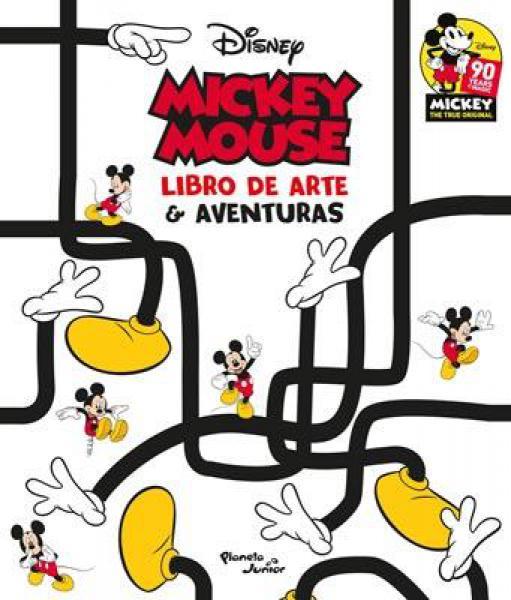 MICKEY MOUSE LIBRO DE ARTE Y AVENTURAS
