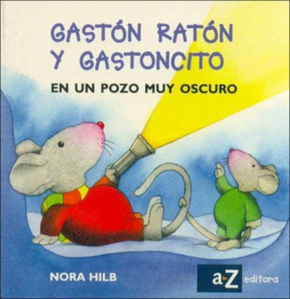 GASTON RATON Y GASTONCITO EN UN POZO