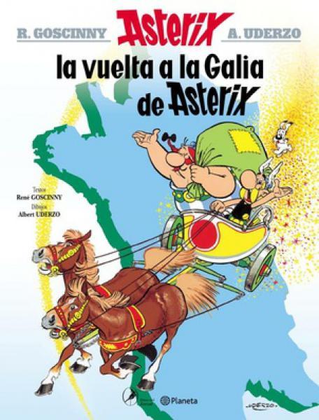 ASTERIX 5 - LA VUELTA A LA GALIA DE A.
