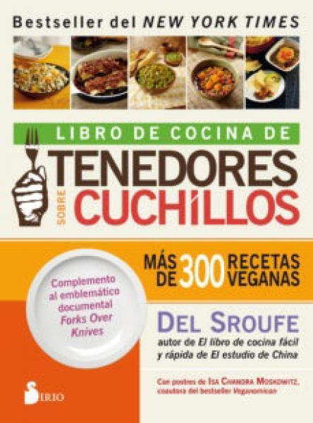 LIBRO DE COCINA DE TENEDORES SOBRE CUCHI
