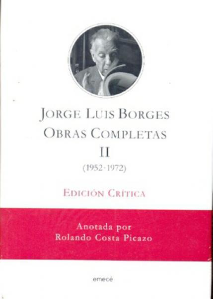 OBRAS COMPLETAS - TOMO 2 (ED.CRITICA)