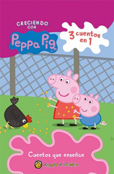 PEPPA PIG - CUENTOS QUE ENSEÐAN ...N.ED.