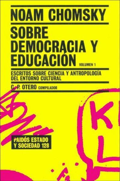 SOBRE DEMOCRACIA Y EDUCACION-VOL.1