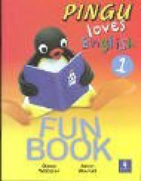 PINGU LOVES ENGLISH 1-FUN BOOK