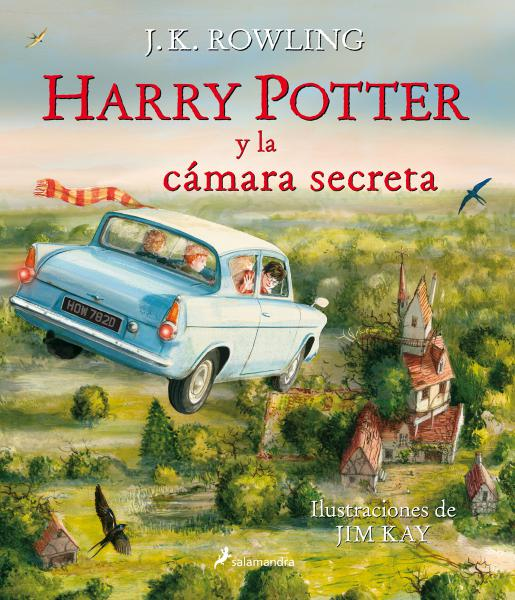 HARRY POTTER 2 -ILUSTRADO