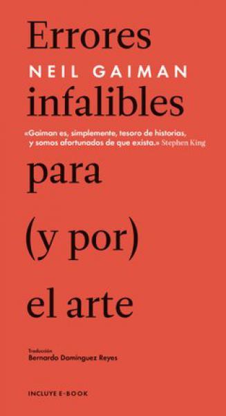 ERRORES INFALIBLES PARA (Y POR)EL ARTE