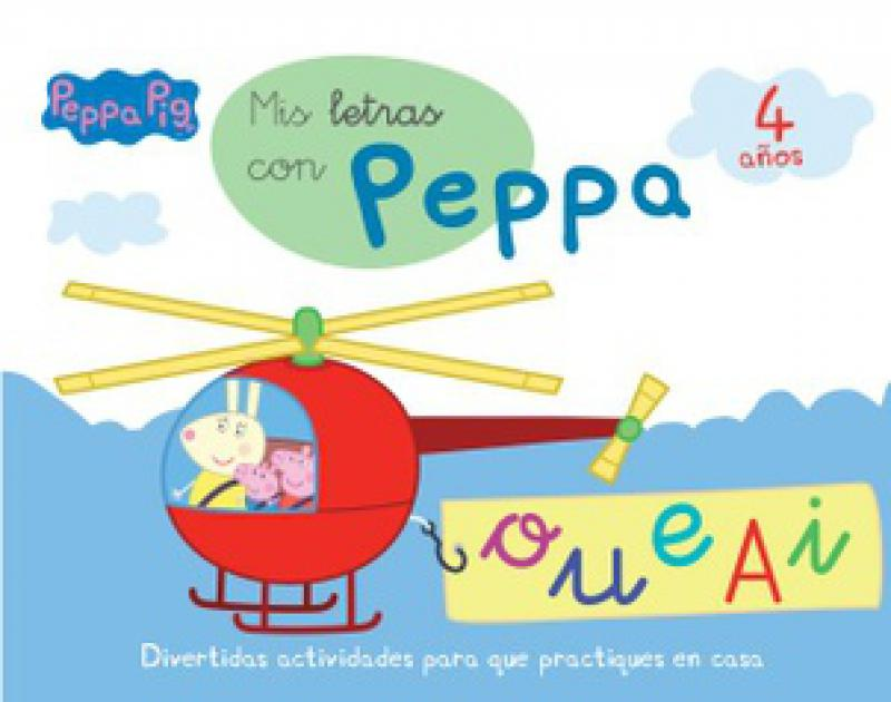 PEPPA PIG - LIBRO DE TELA
