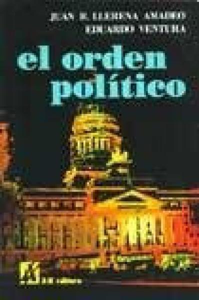 EL ORDEN POLITICO-DERECHO POLITICO