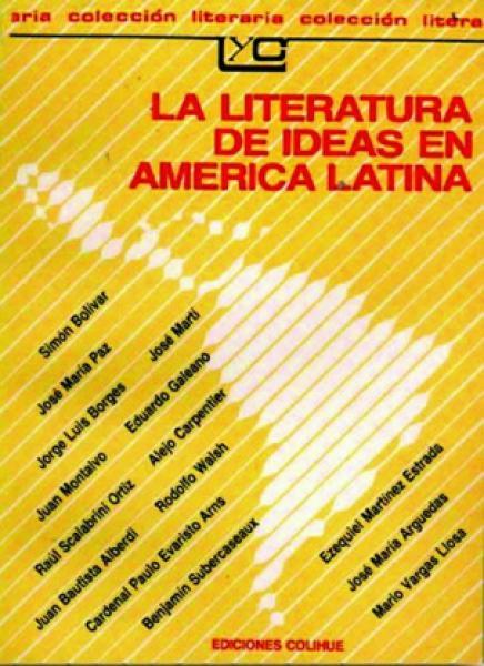 LA LITERATURA DE IDEAS E/AM.LATINA