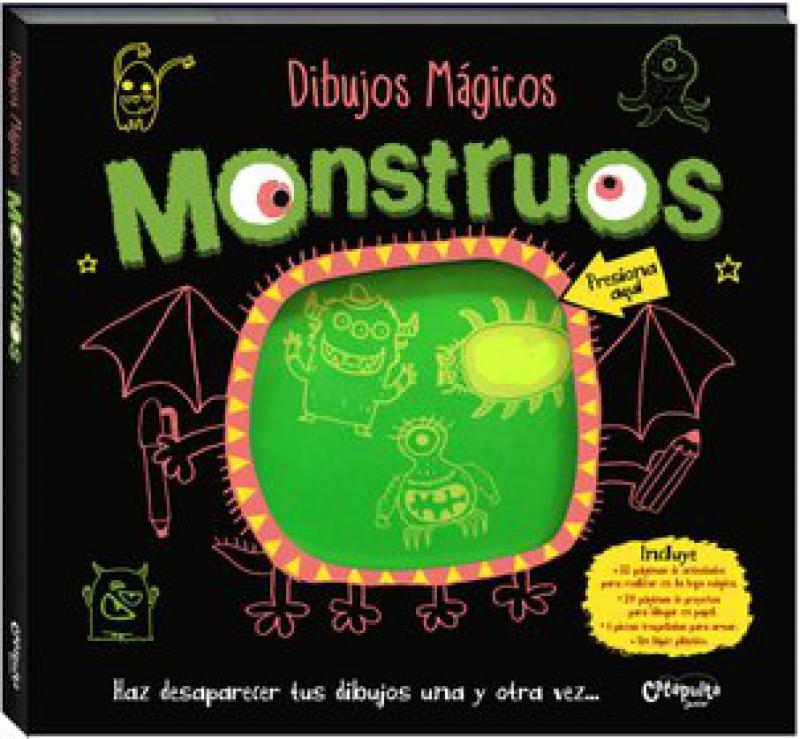 DIBUJOS MAGICOS MONSTRUOS