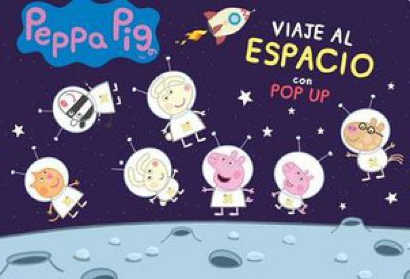 PEPPA PIG VIAJE AL ESPACIO CON POP UP
