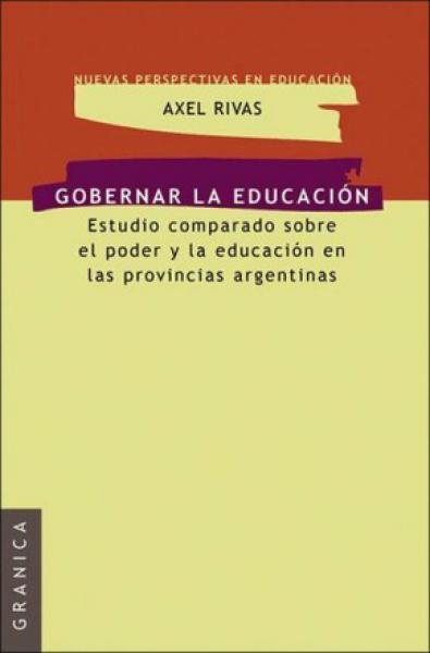 GOBERNAR LA EDUCACION