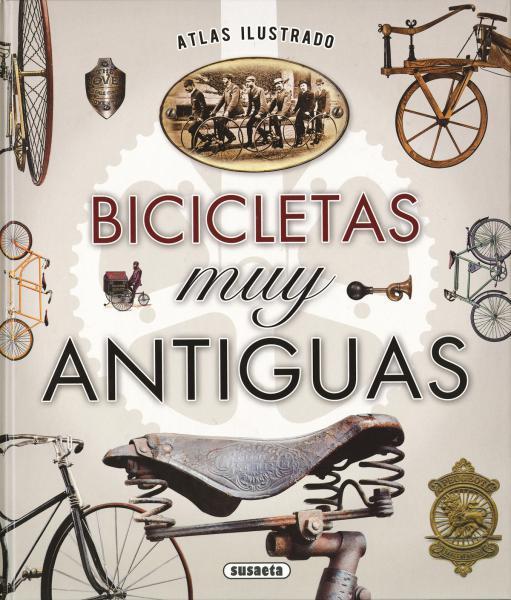 BICICLETAS MUY ANTIGUAS - ATLAS ILUSTRAD