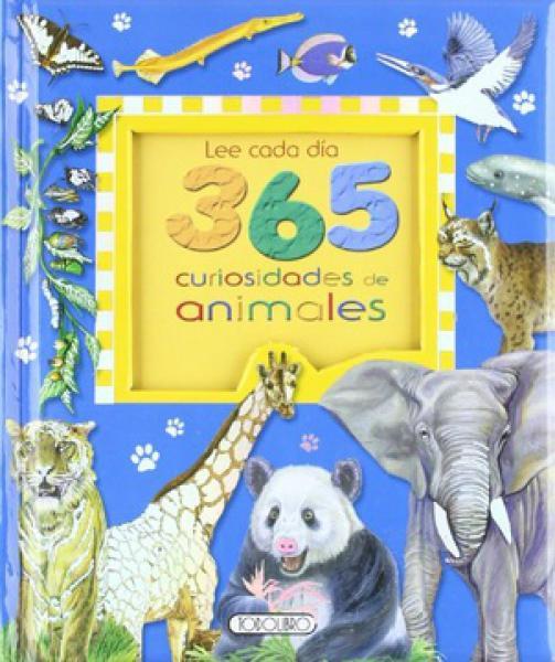 LEE CADA DIA 365 CURIOSIDADES D/ANIMALES