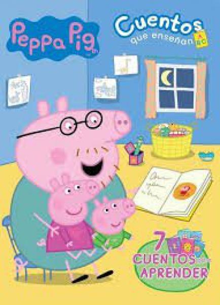 PEPPA PIG CUENTOS QUE ENSEÑAN ABC