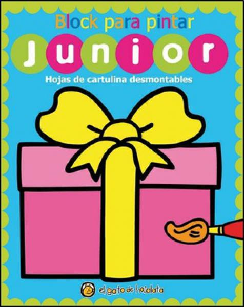 REGALO BLOCK PARA PINTAR JUNIOR