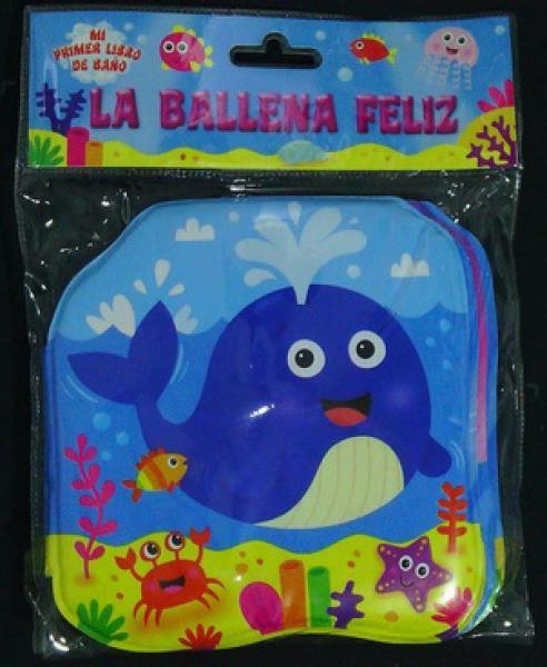 LA BALLENA FELIZ - LIBRO DE BAÐO