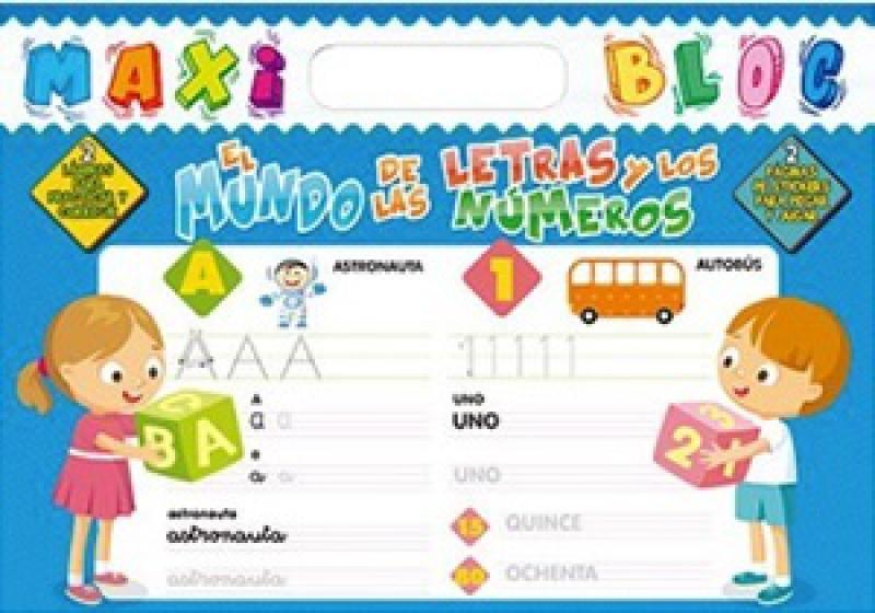 MAXI BLOC - EL MUNDO DE LAS LETRAS Y NUM