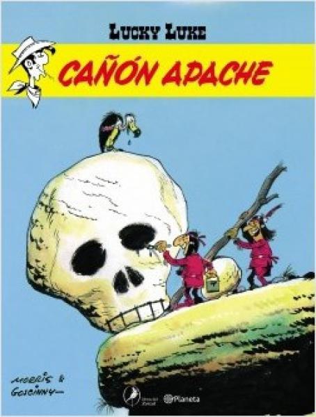 LUCKY LUKE 8 - CAÑON APACHE